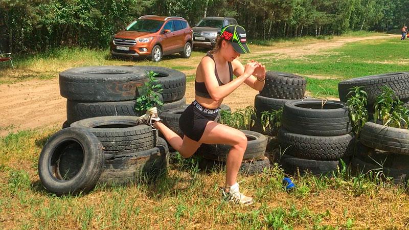 Физкультура в мотокроссе