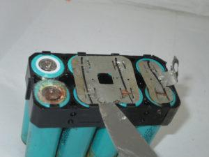 Разборка литео ионого акумулятора ктм