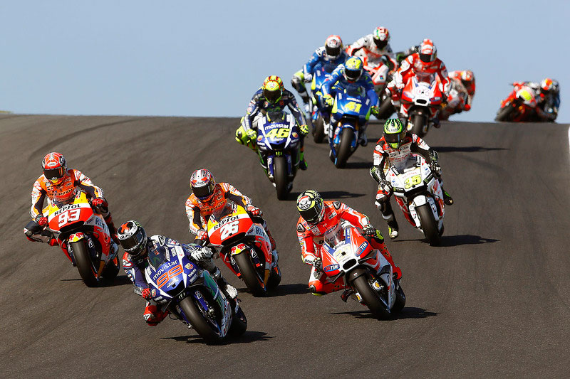 Гонщики Moto GP