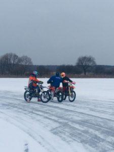мотокросс по льду